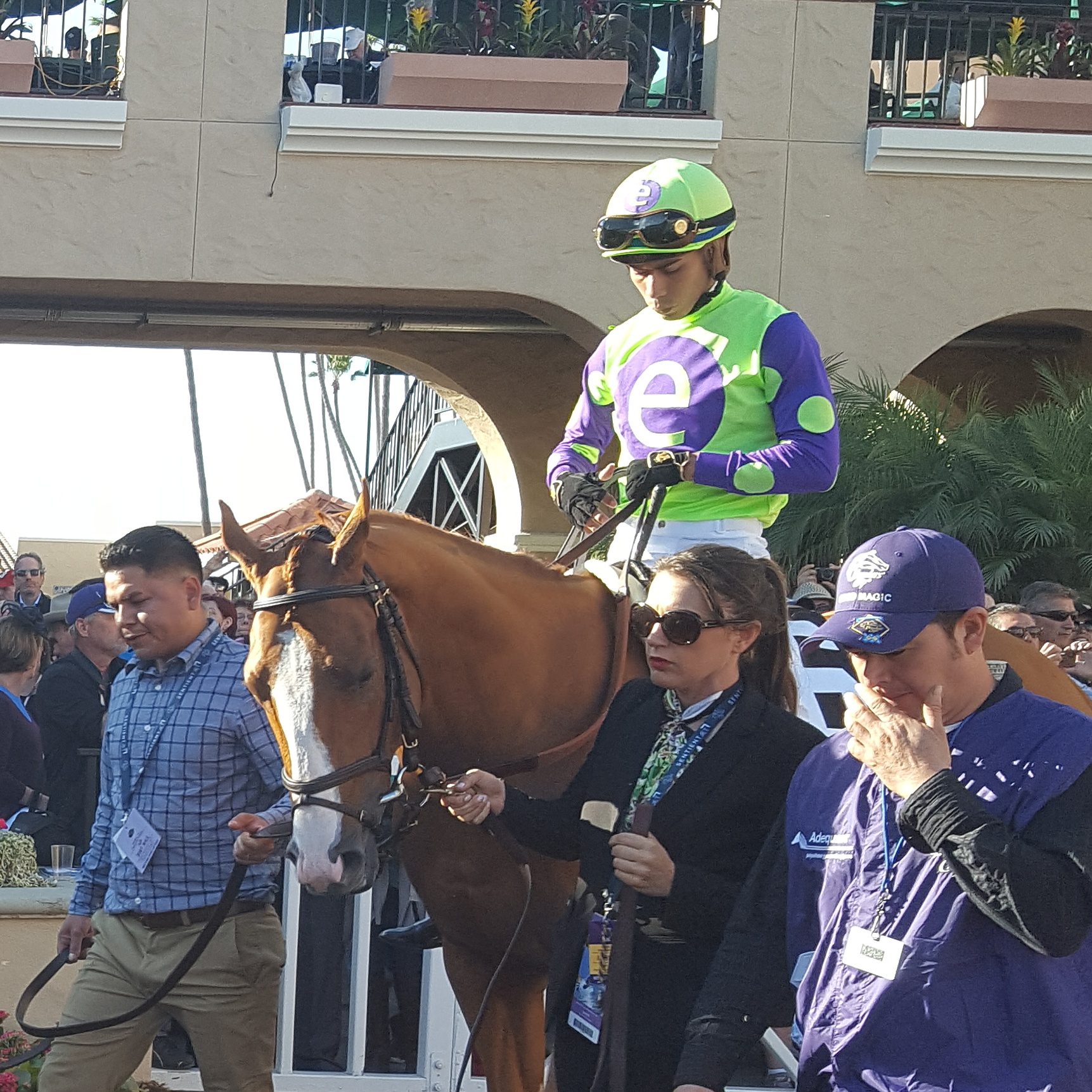 Good Magic For Curlin In The Breeders Cup Juvenile Blinkers Off